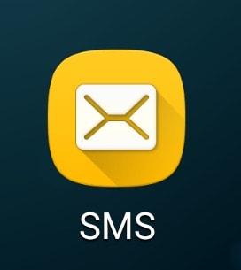 確認コード取得 SMS Android